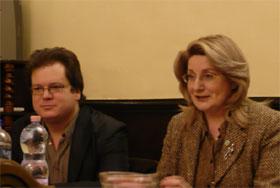 24 февраля Любовь Шишелина была гостем круглого стола в программе венгерского ЭХОТВ «Венгерский клуб журналистов».